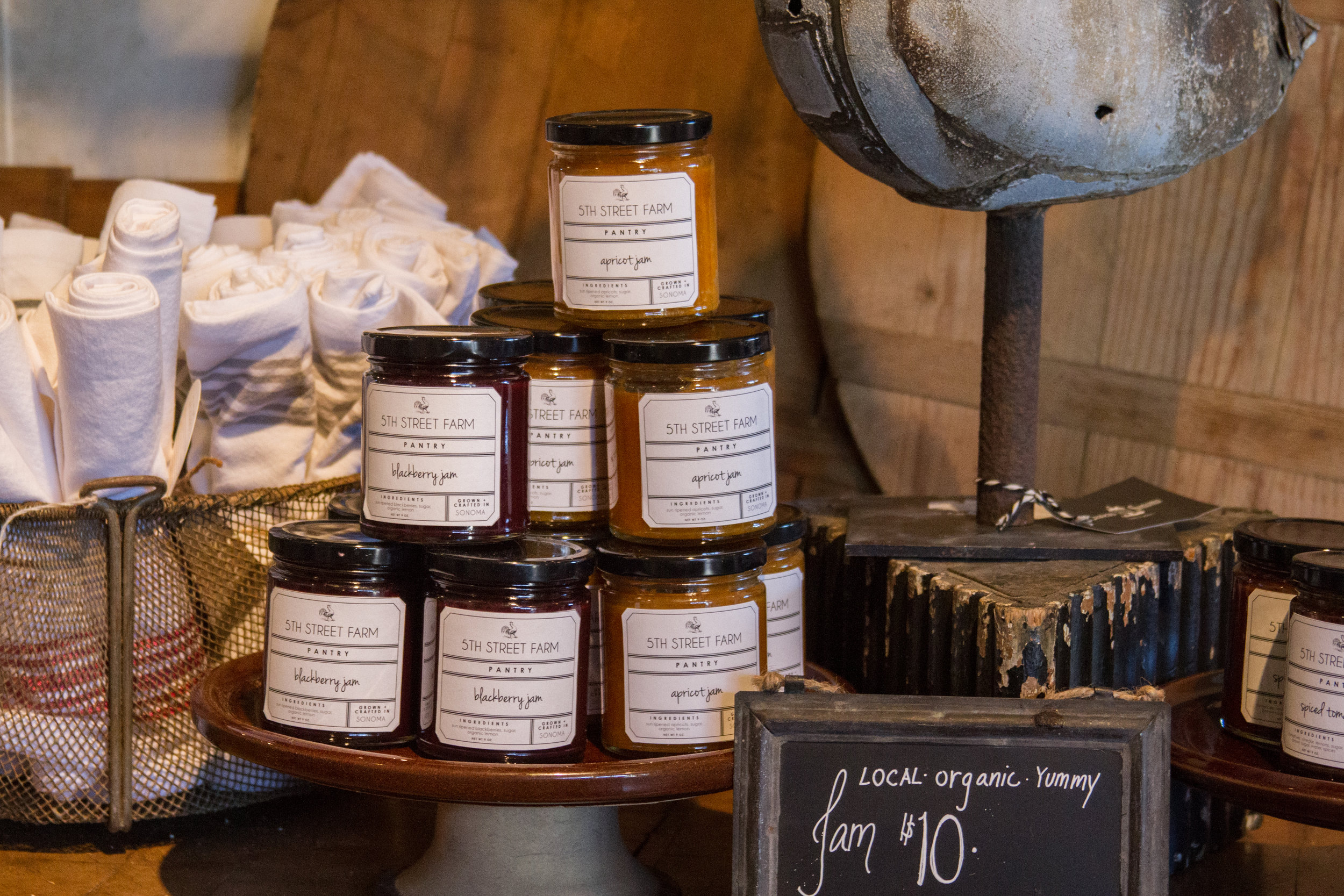 5th Street Farm Preserves at Chateau Sonoma. | chateausonoma.com