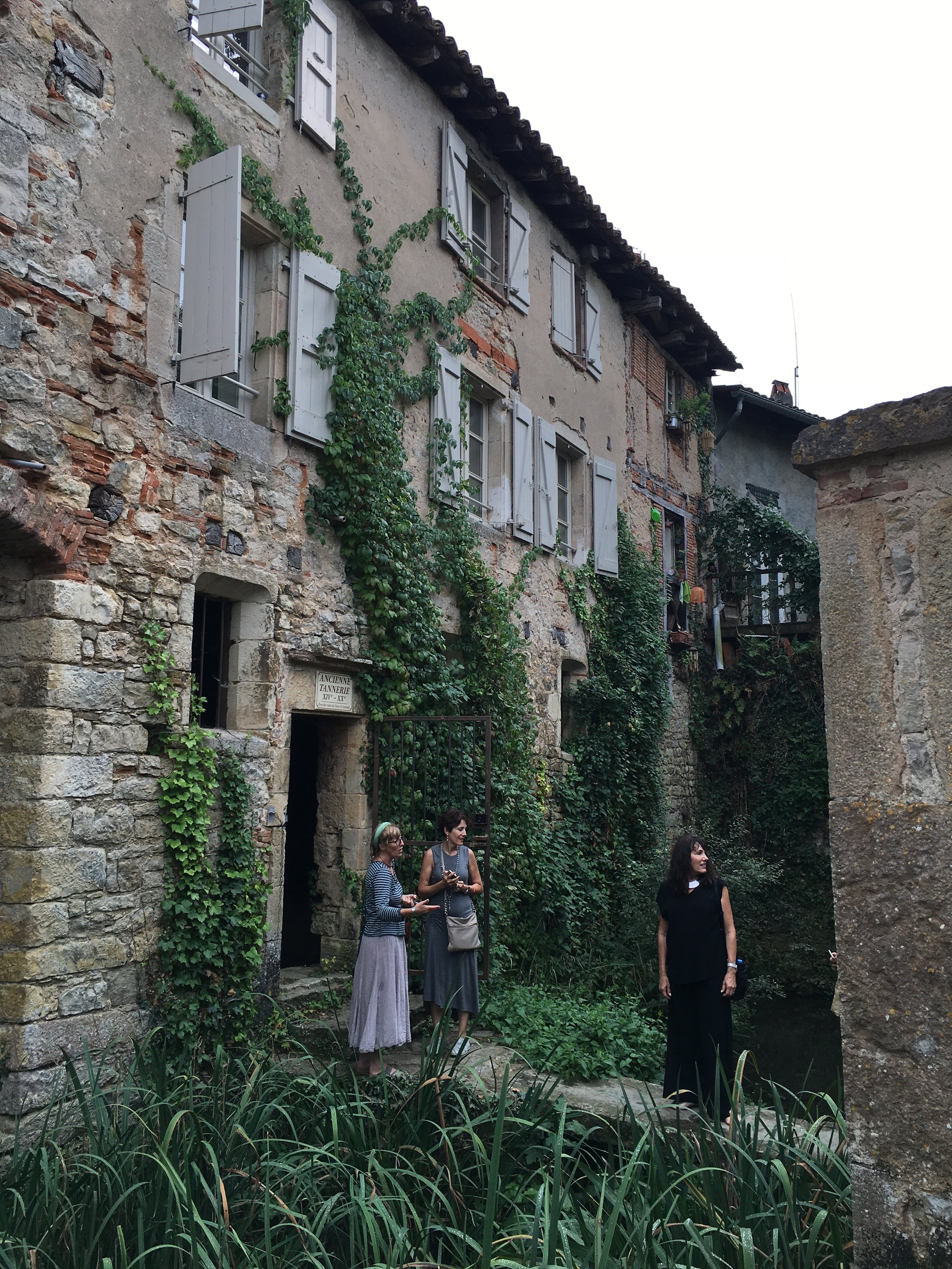 Chateau Dumas a French culinary group trip from Sonoma! Aunty, Toulouse, and Saint-Antonin-Noble-Val