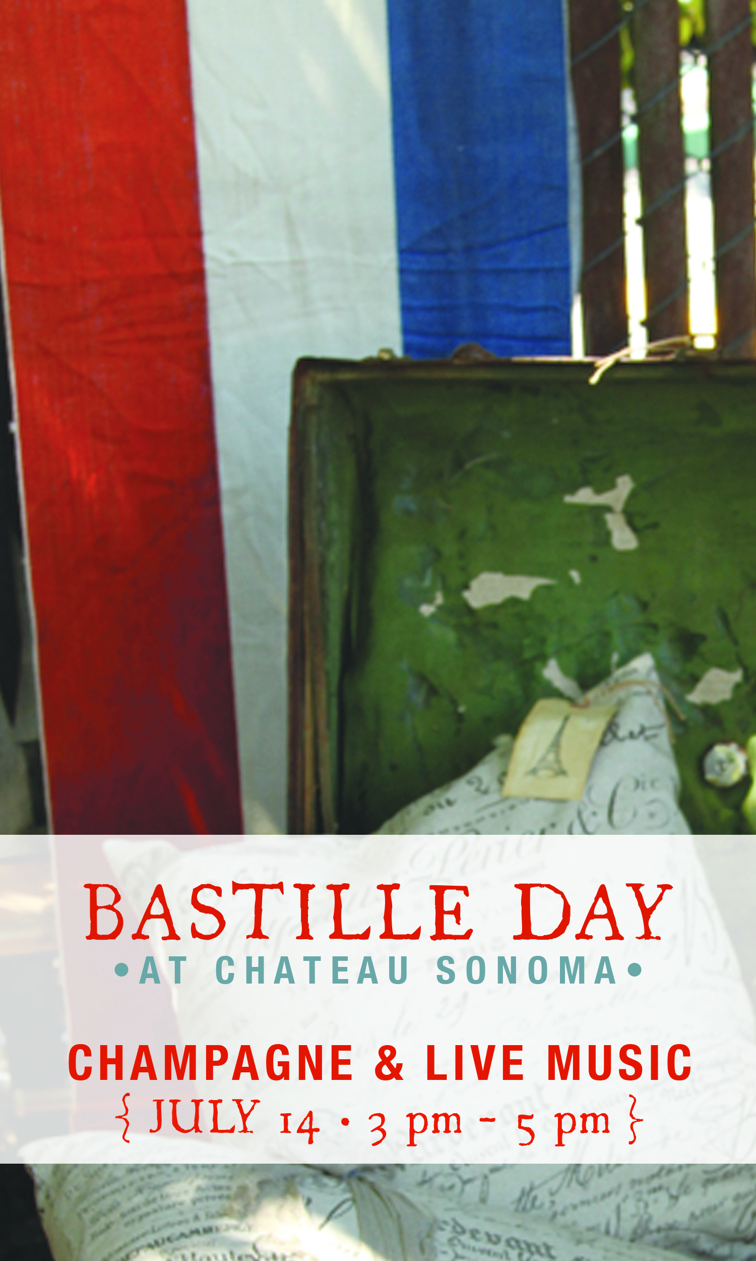 Bastille Day at Chateau Sonoma