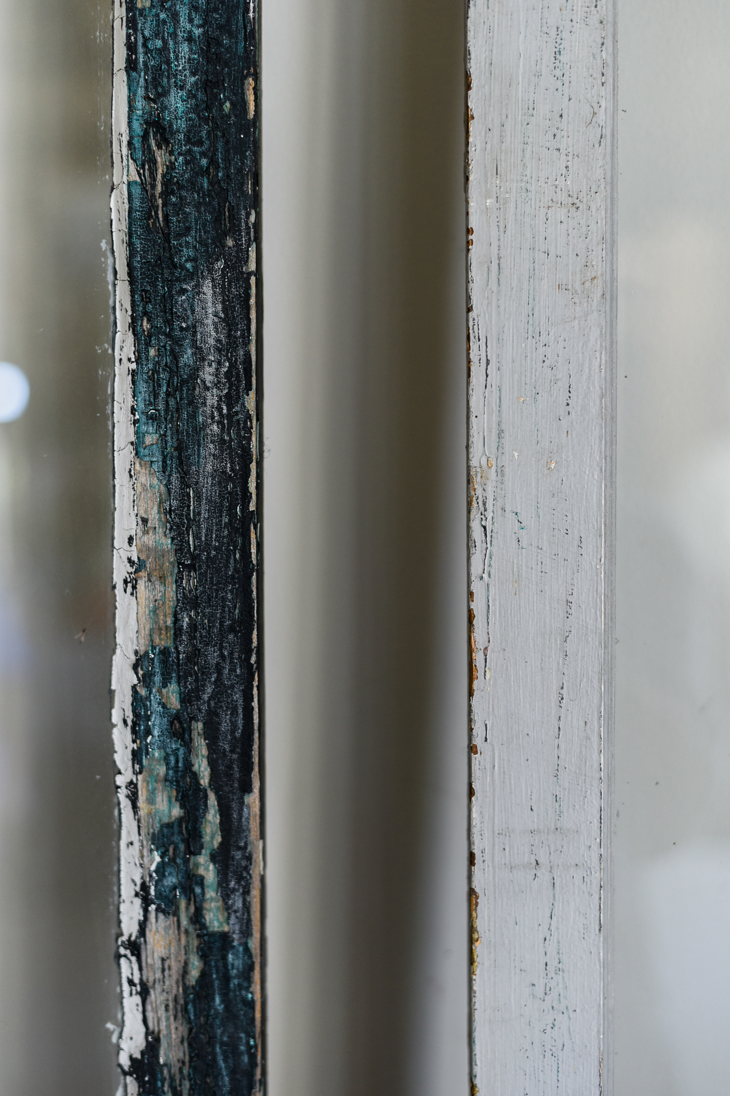 SALVAGED FRENCH WINDOWS
