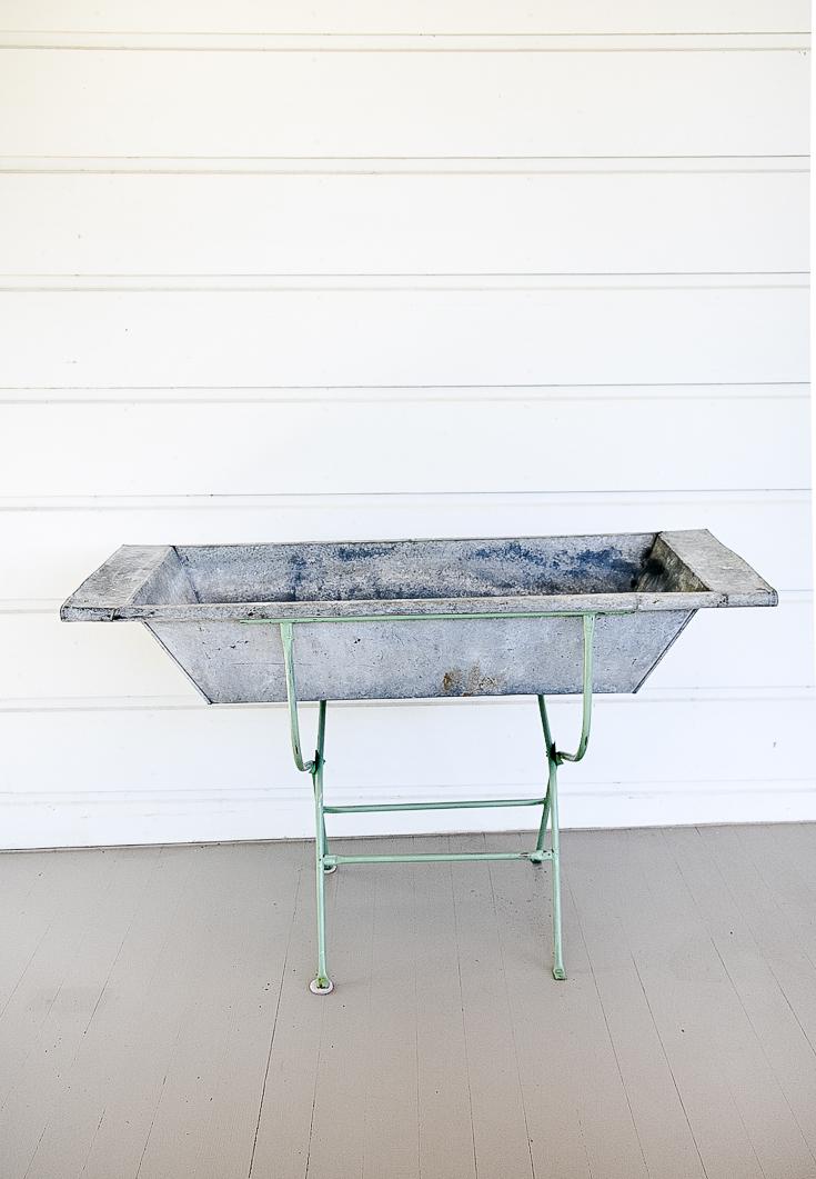 Vintage Sink Baby Bath