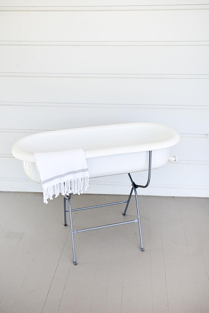 Enamel Baby Bath