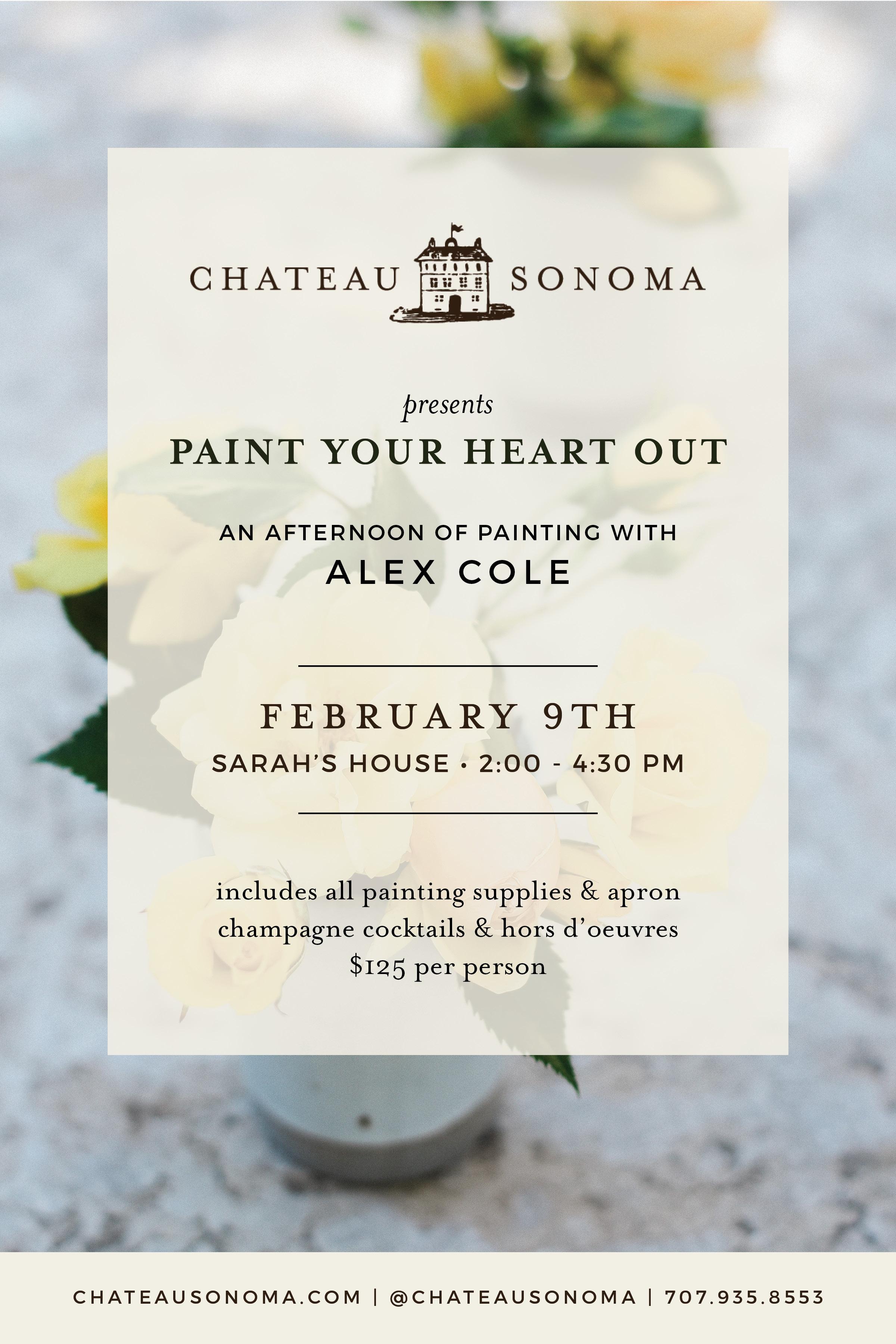 Valentine's Day Ideas in Sonoma County | chateausonoma.com
