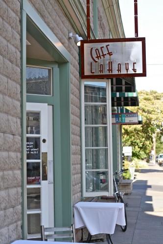 Cafe La Haye in Sonoma, Ca