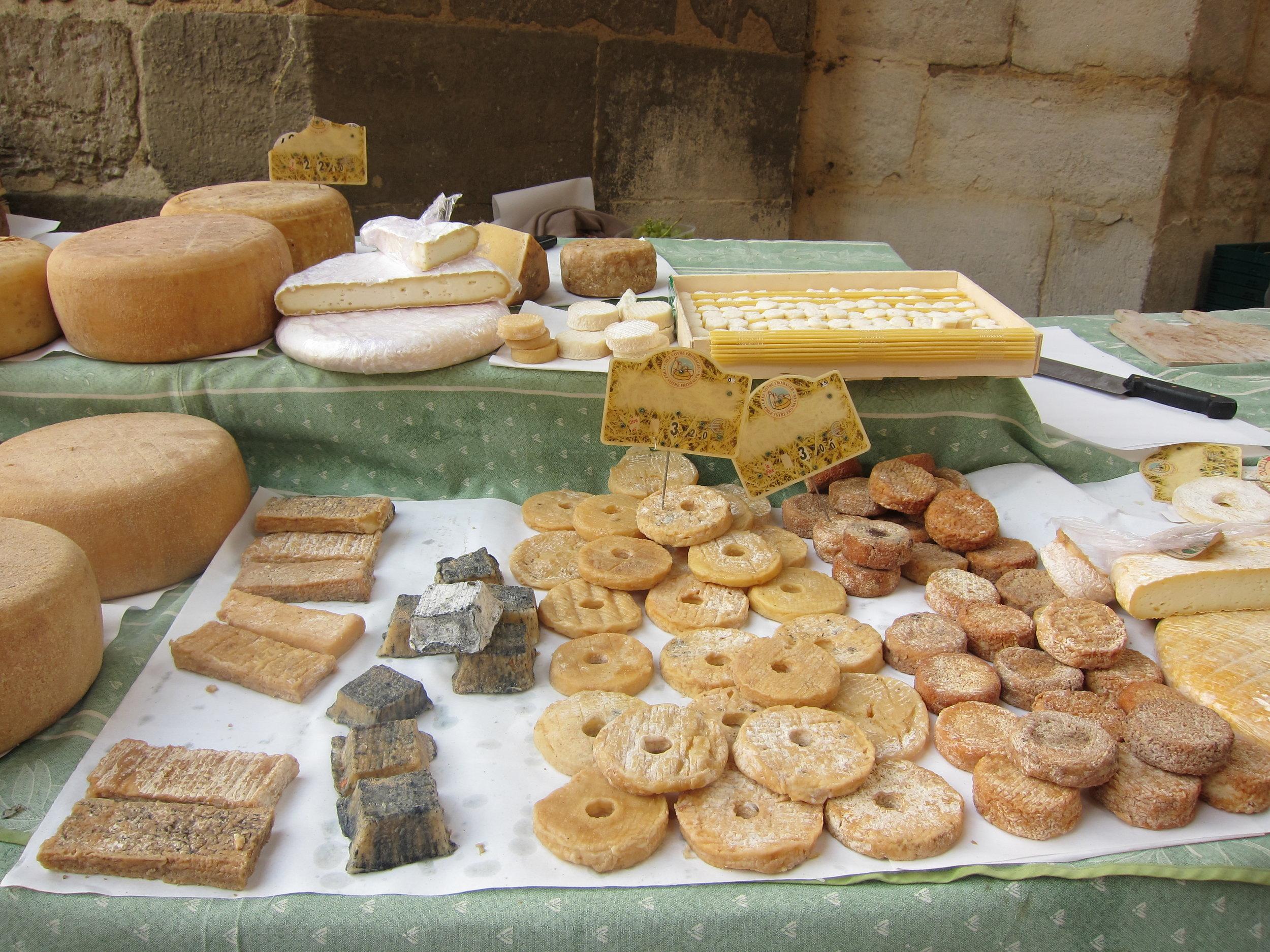 Farmers Market in France
