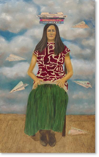 Veronica Napoles, Chateau Sonoma, Chateau Sonoma Farm, Sarah Anderson, Art Show, Sonoma California, Art Collection, Artist, Sonoma Artist, September Events, Sonoma Events, Beyond Borders