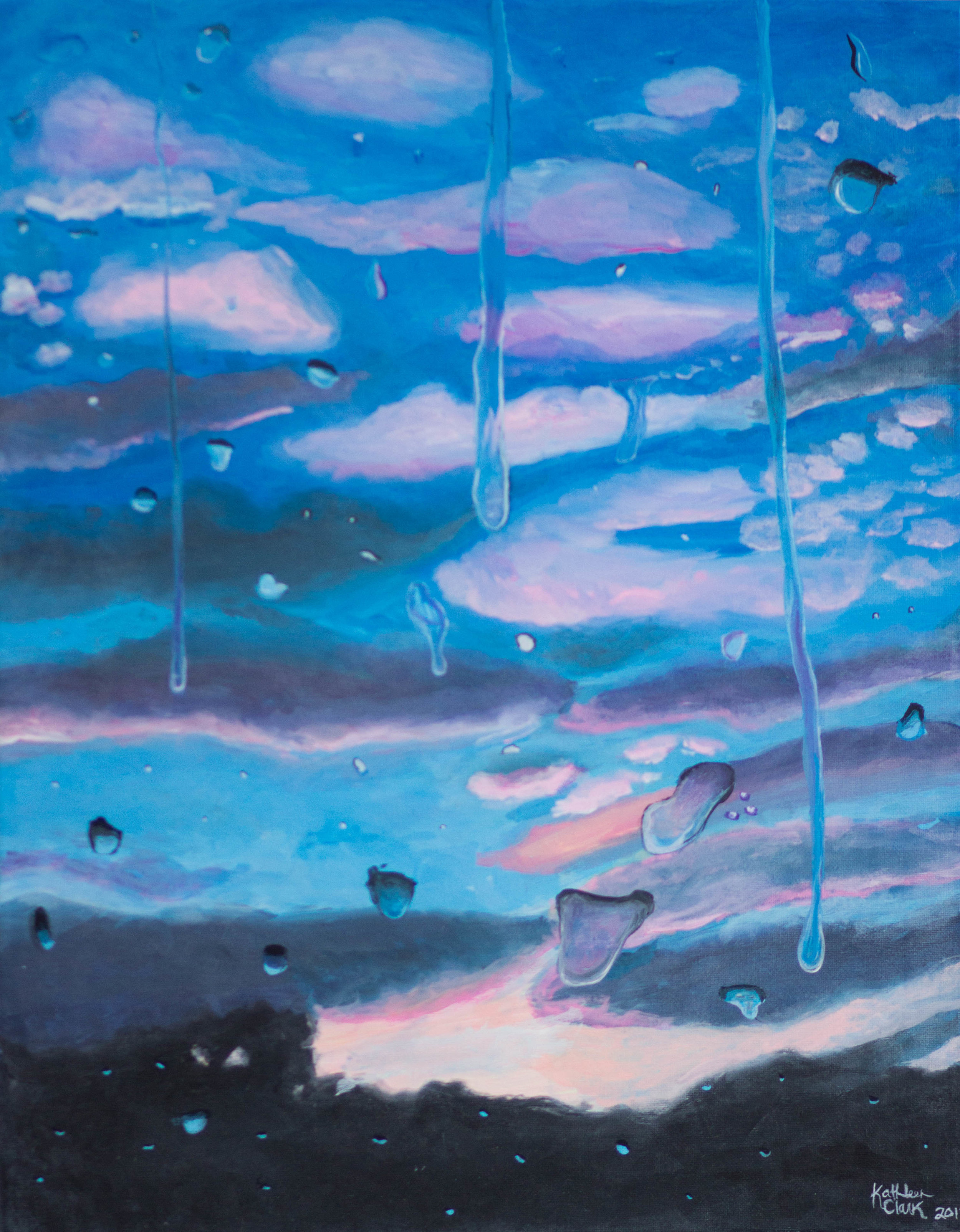 'Just Us' 16 x 20 acrylic on canvas