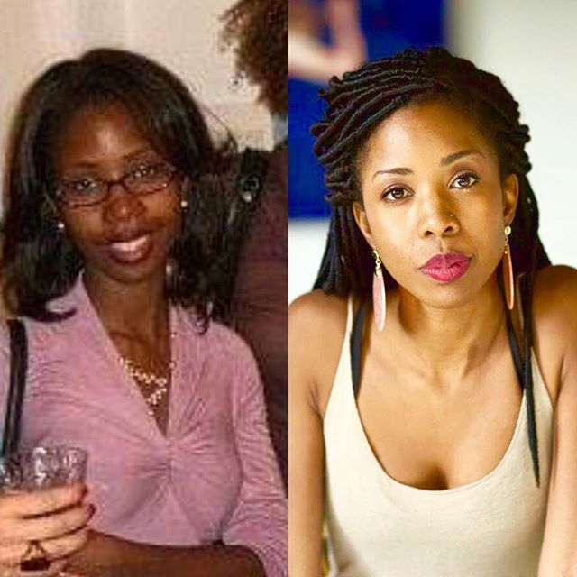 Circa 2009 | 2019 . To the woman on the left:  I accept you. I forgive you.  I love you. You matter. . To the woman on the right: Thank you for finally finding your shine. . #WouldntChangeOneMoment #PhenomenalWomanThatsMe #WorkInProgress #GlowingFromTheInsideOut #10yearchallenge . 📸 @julesroyphoto