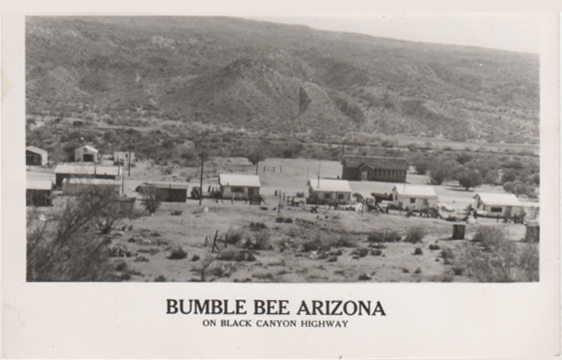 Courtesy of Eula Mitchell - Resident of Bumble Bee at the time it was taken