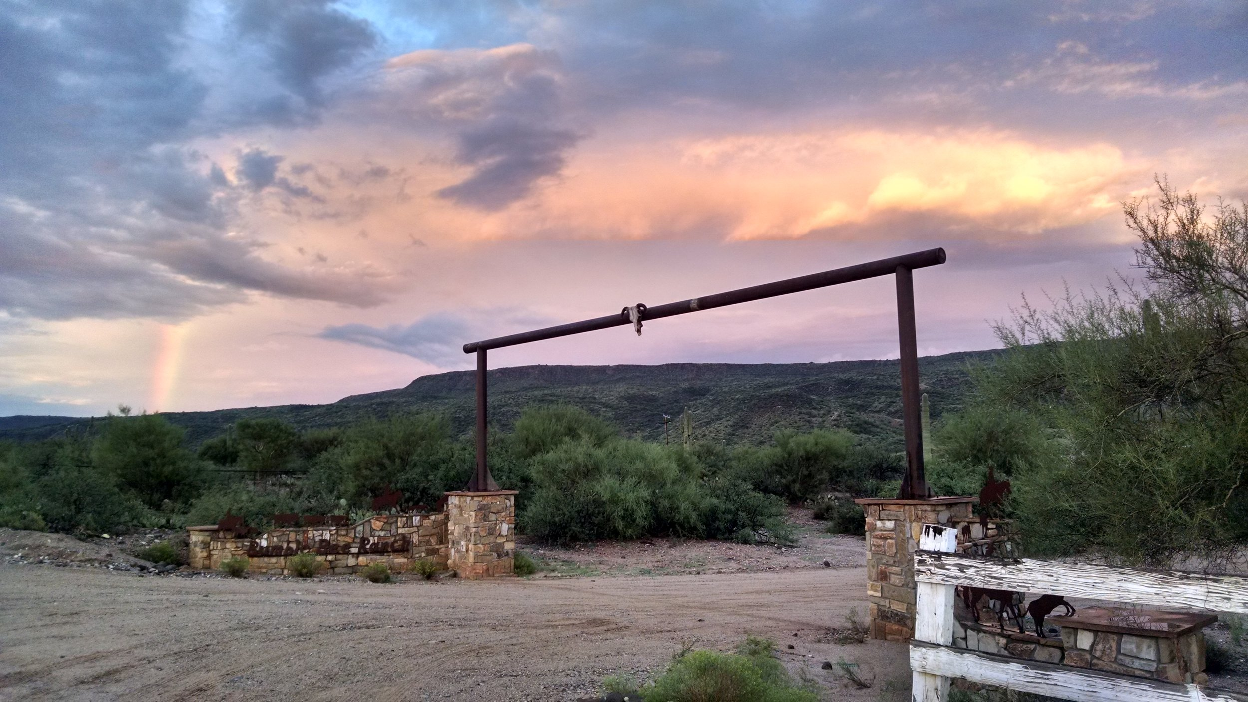 Entrance into Ranch
