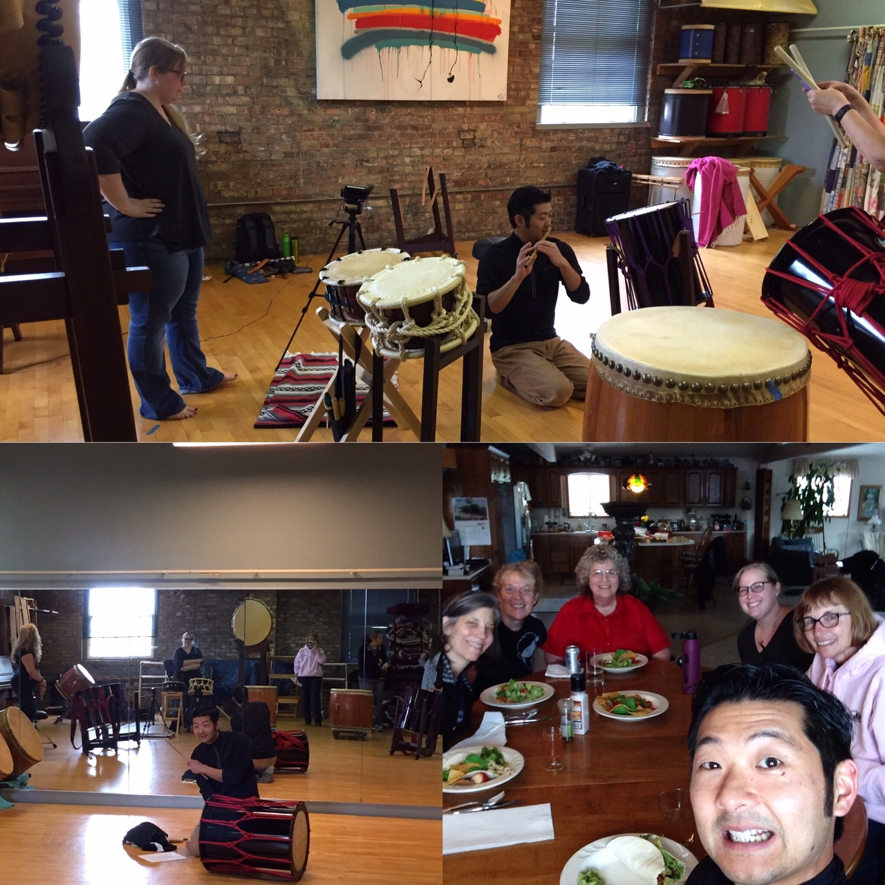 Maz with Fort Wayne Taiko! - Two Workshops. One Day. Good Times!
