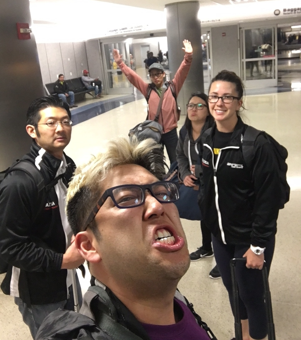 Team Glasses Landed!