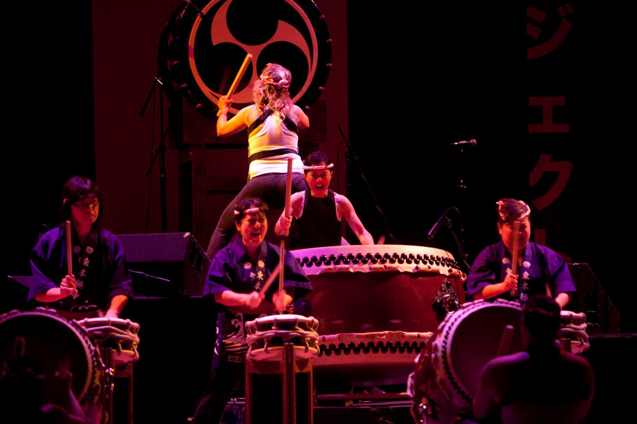 Bombu Taiko performing Kaminari no Koe