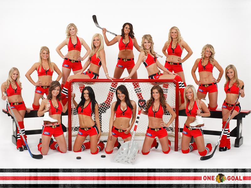 + Blackhawks Ice Crew Calendar Photoshoot