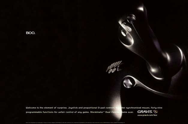 Gravis Print Ad