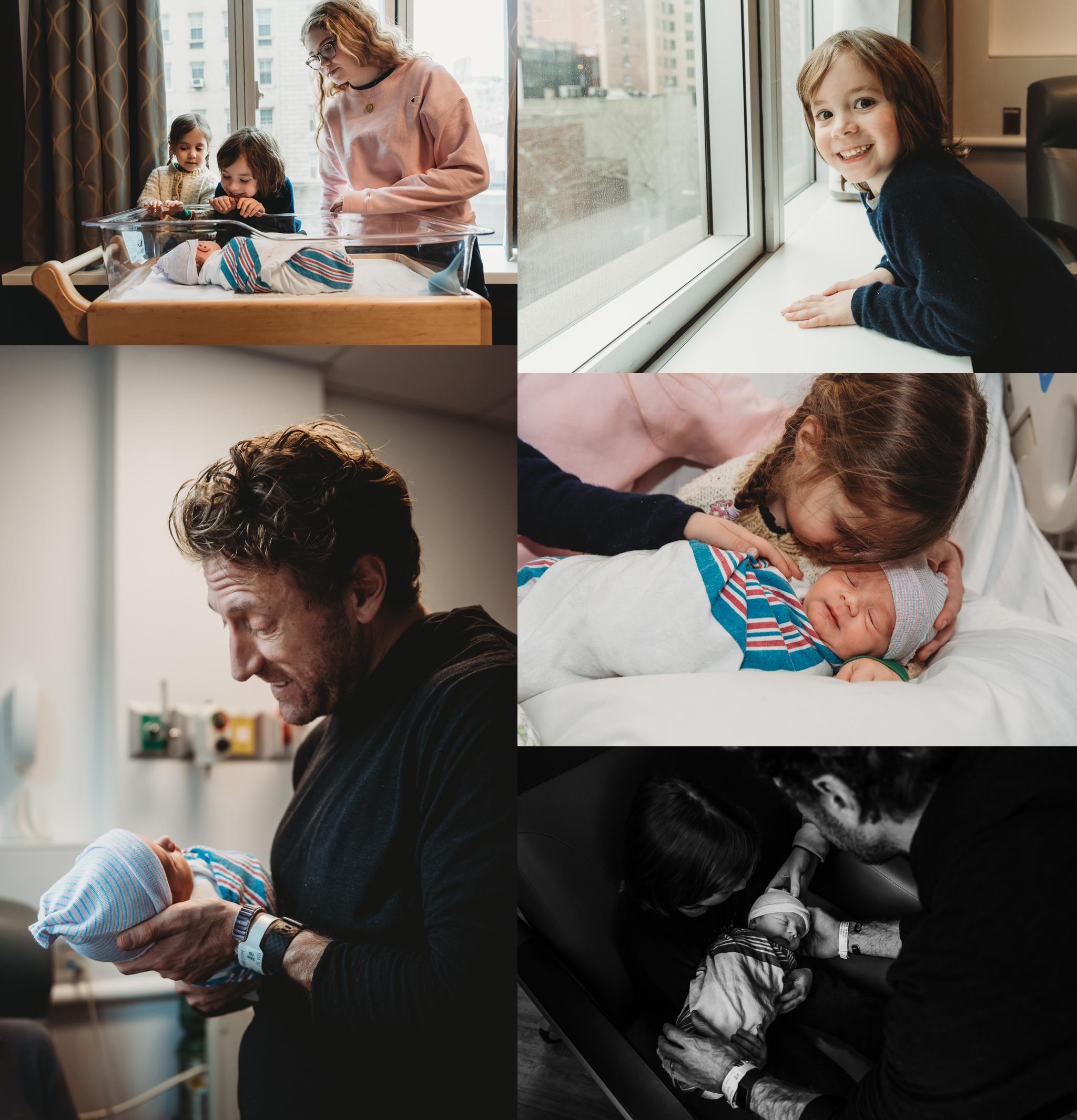 Just Born, Hospital Newborn Photo Session NYC 004
