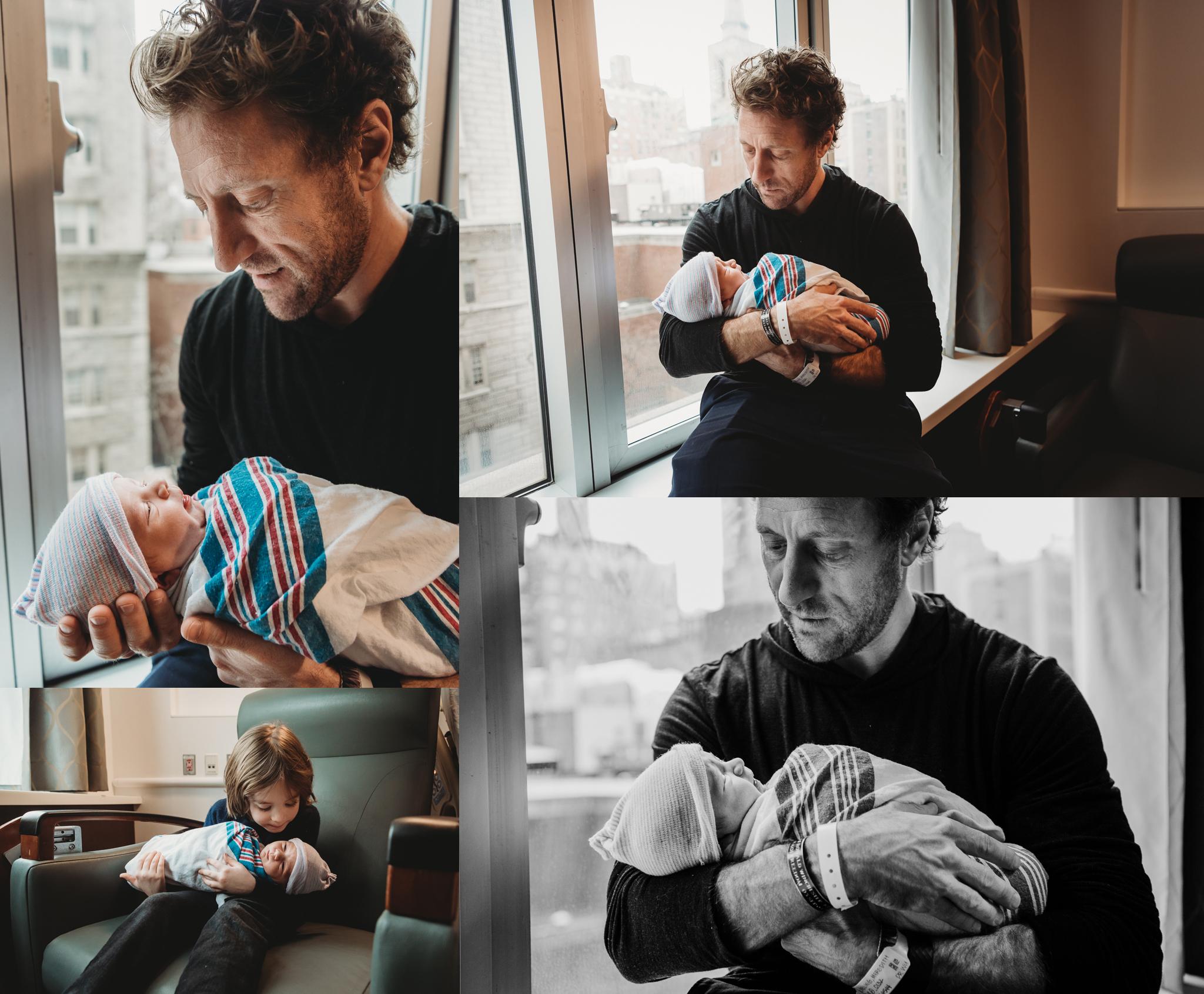 Just Born, Hospital Newborn Photo Session NYC 005