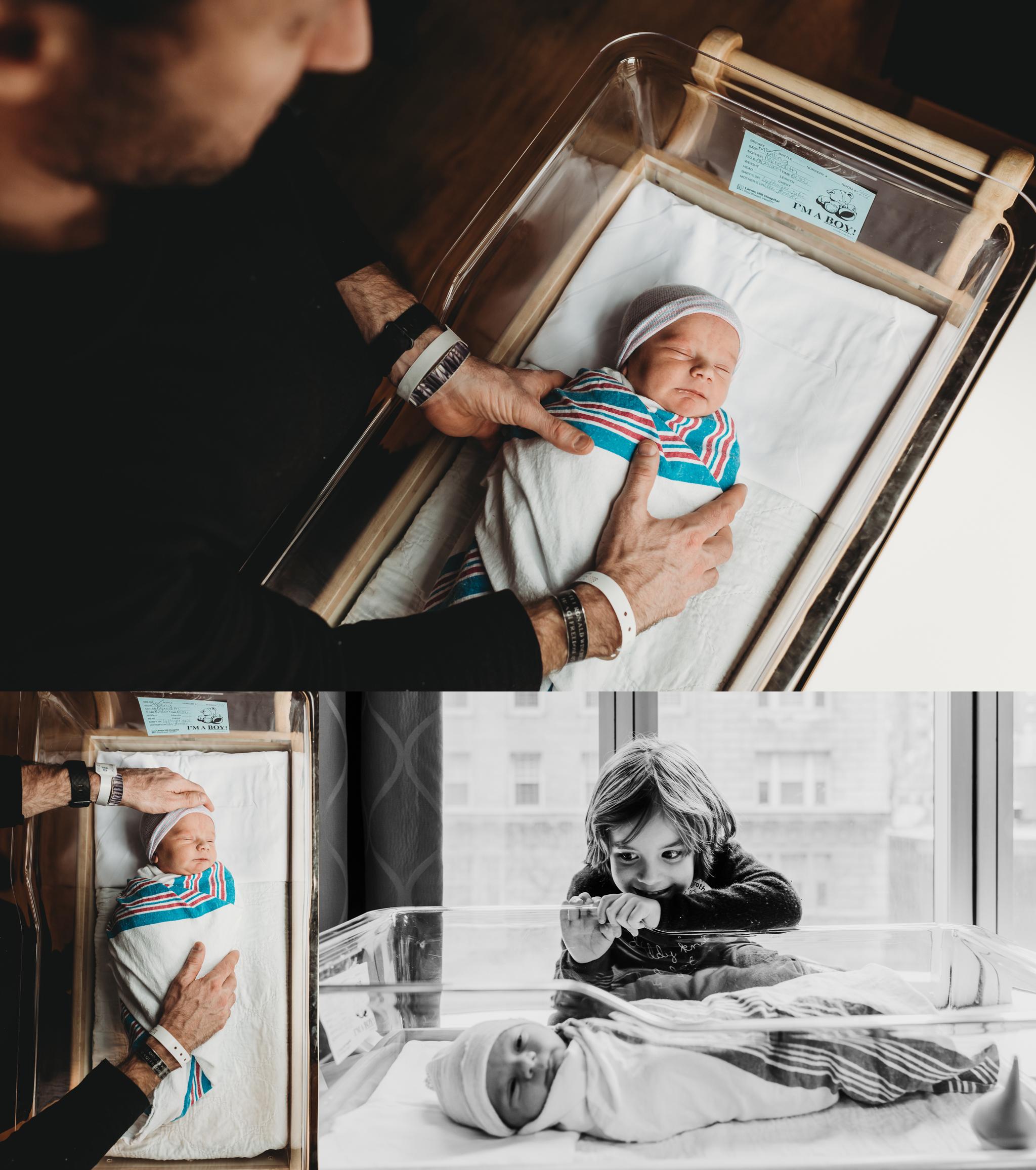 Just Born, Hospital Newborn Photo Session NYC 009