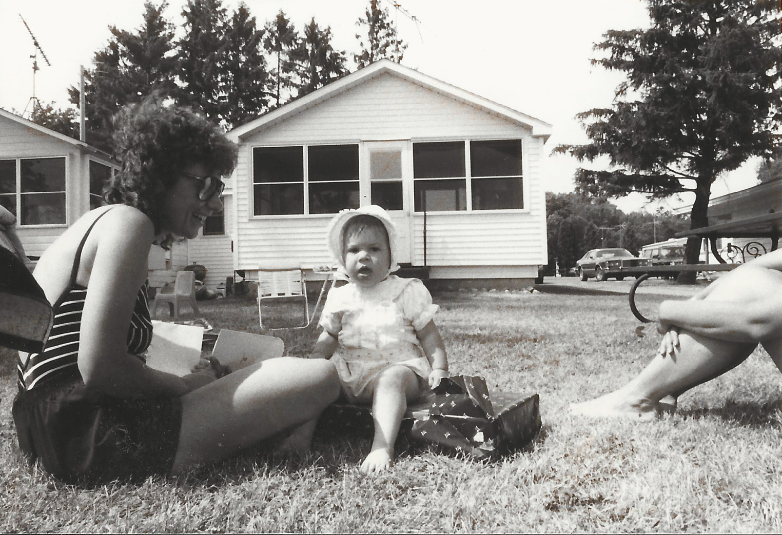 Me on my 1st Birthday in Elkhorn, WI