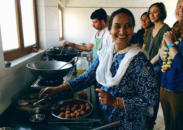 ohdeardrea india vegan cooking lesson smiles.jpg