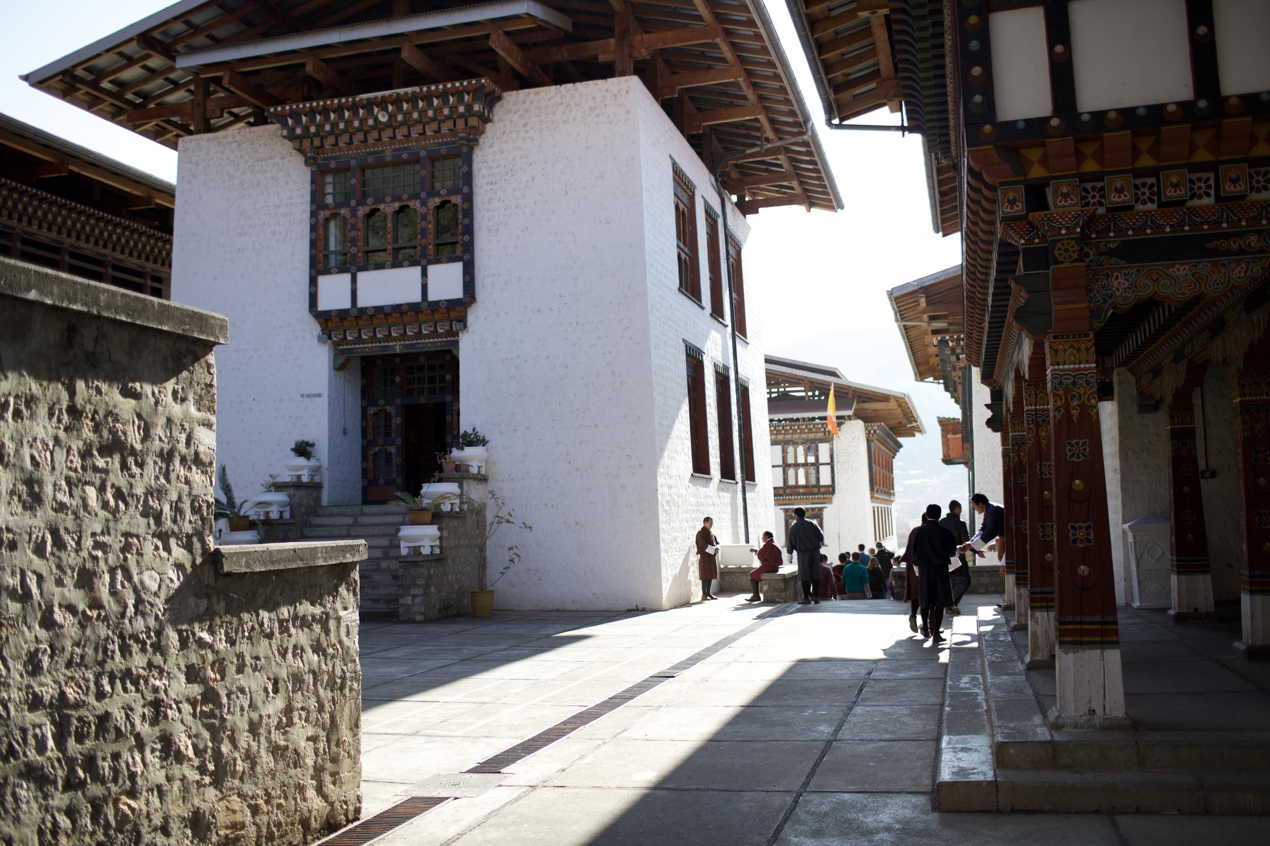 Paro College of Education, Bhutan ©Jacquelyn Poussot