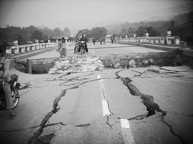 Myanmar Earth Quake | 6.9 Magnitude | Apr 2016