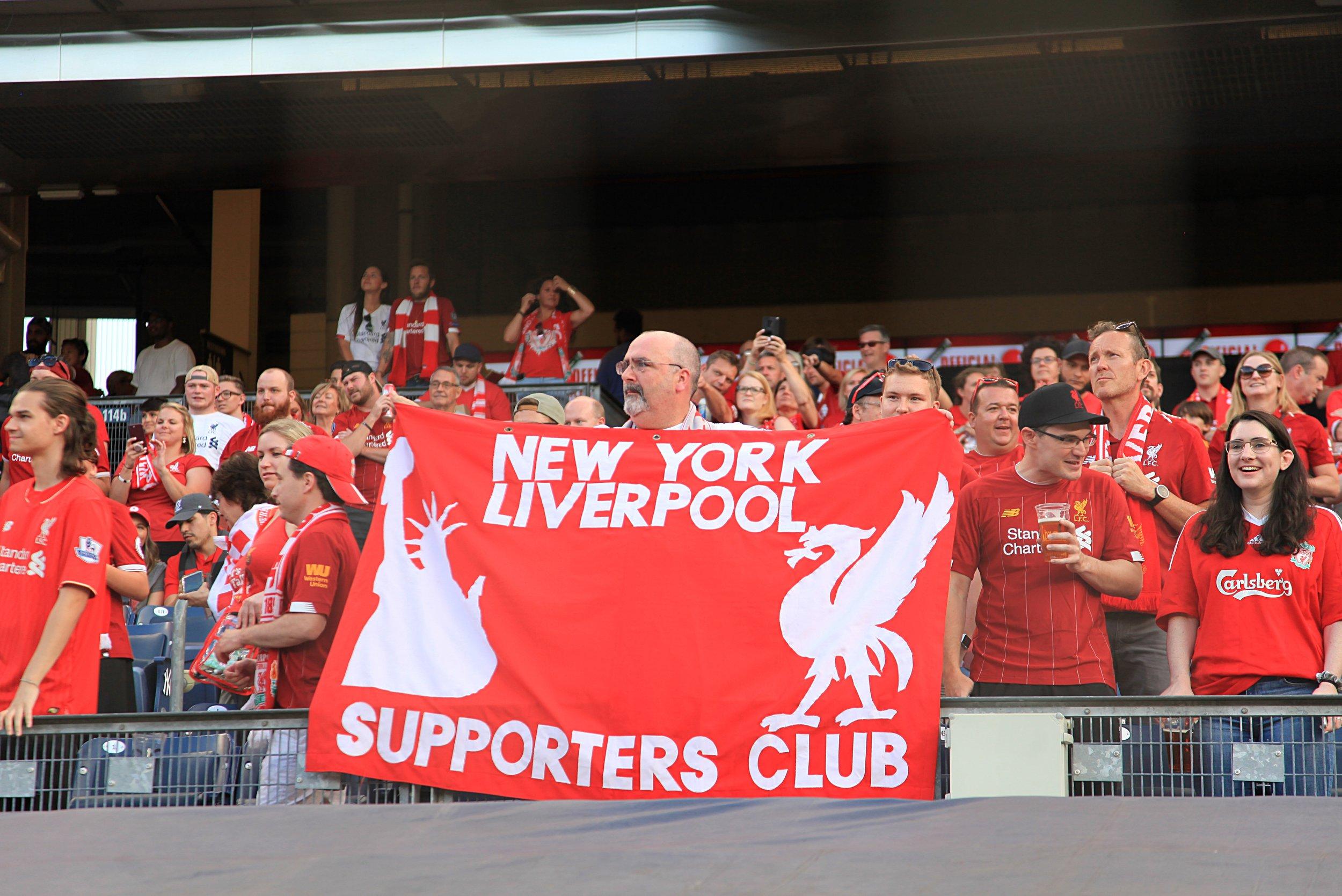Liverpool fans.