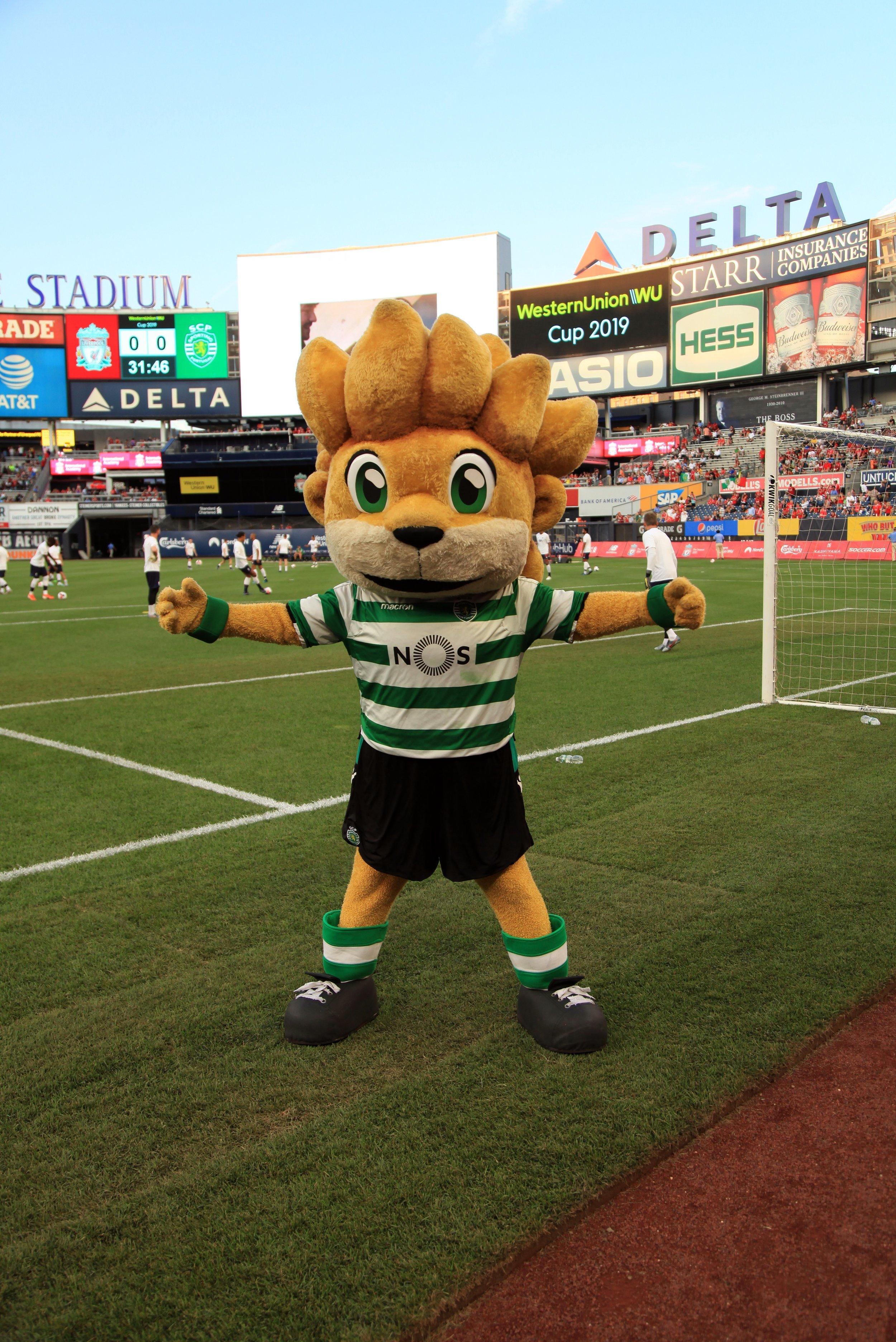 Sporting CP Mascot.