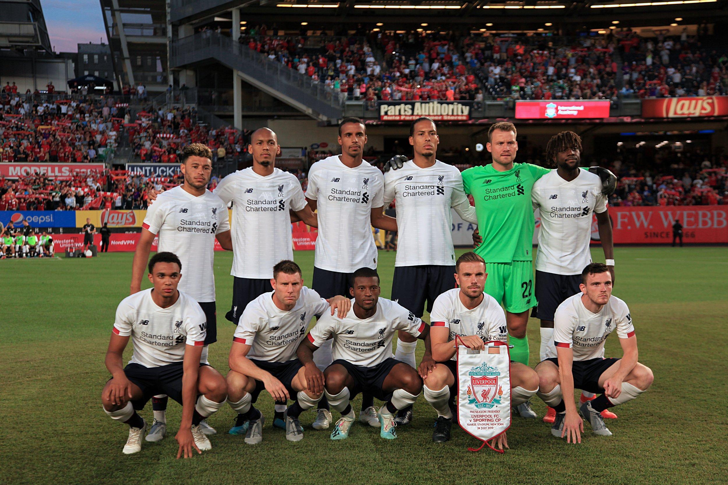 Liverpool team photo.