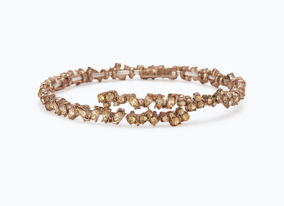Hera Coil Bracelet - The holidays are the perfect time to add a dose of dazzle and this bracelet will have you on your way. Stack it with the other styles on this list or wear it on it's own for a subtle sparkle.