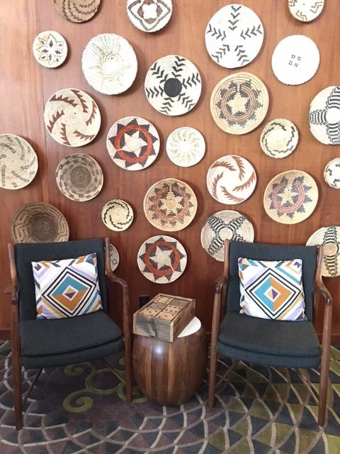 Pretty decor at Amara