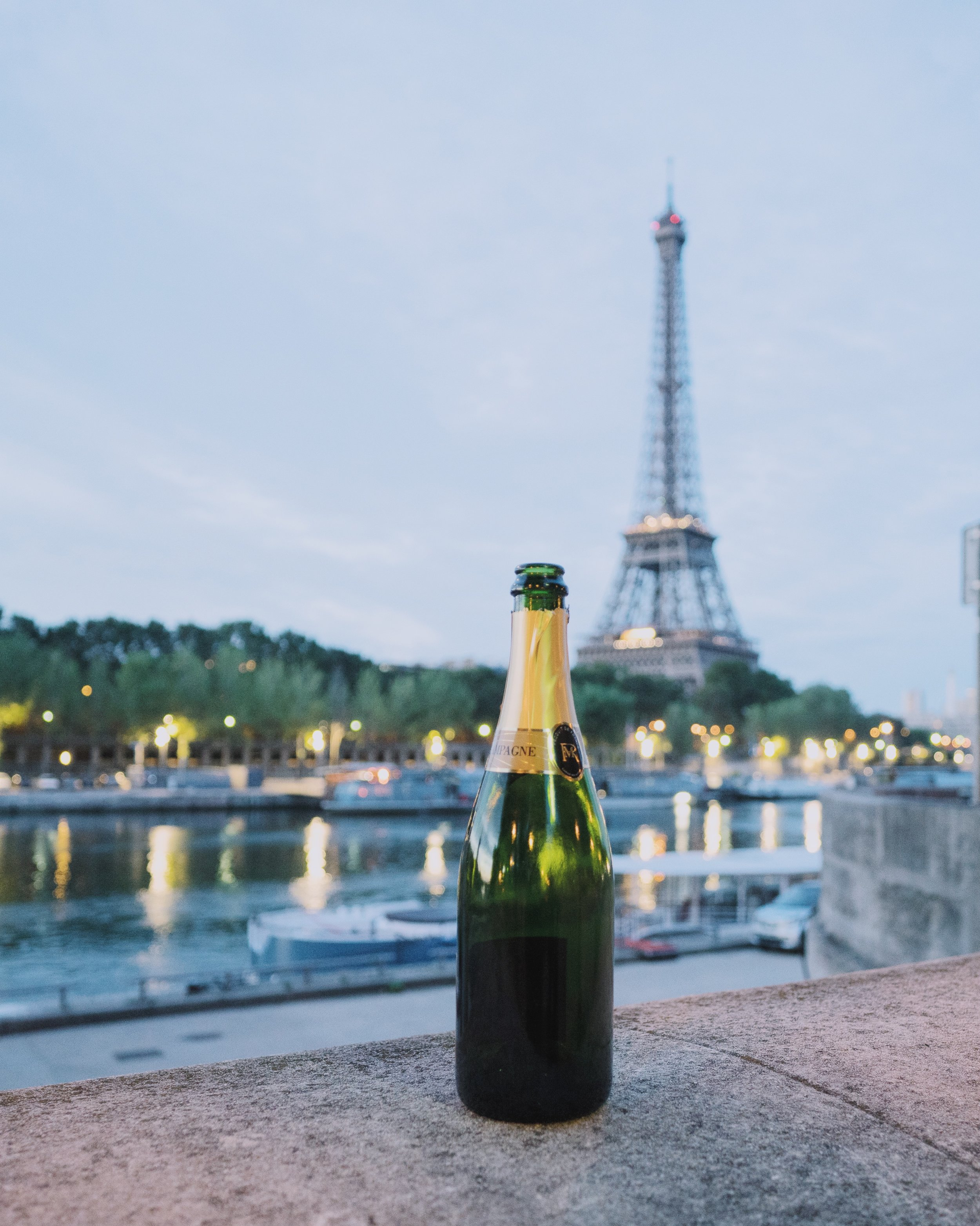 You can drink champagne anywhere, and you should.