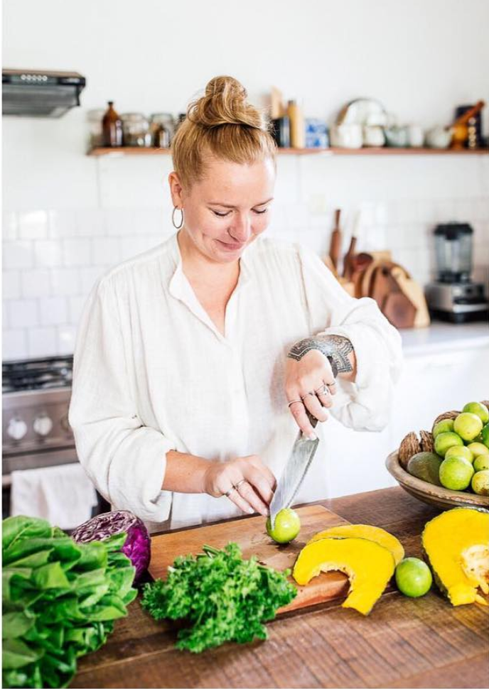 november 2018:   Emma Fountain  is excited about the launch of her debut  cookbook  with over 50 plant-based recipes from  VIBe  kitchens