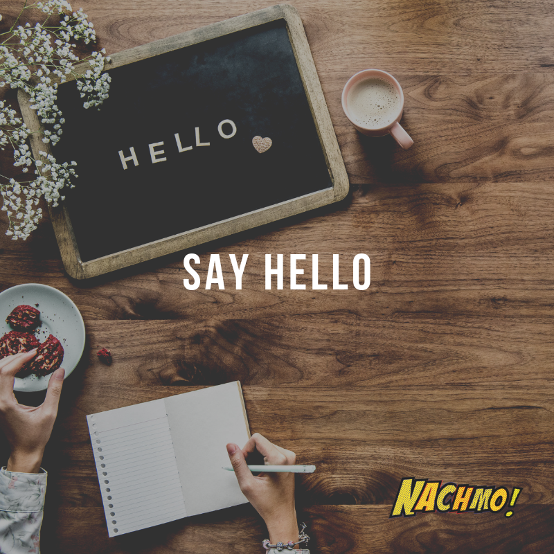 Jan 1: Say hello! - Prompt: State your name and NACHMO goal for the month on social media!Plus: Find a notebook that you can keep notes in.Lens: Sign up for a free Vimeo account (or youtube if you prefer) and start making a playlist that keeps track of videos you like.