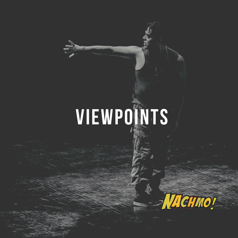 Jan 27: Viewpoints - Prompt: If you can, bring an observer into the studio, or create one by doing a live facebook feed or other type of live stream. Play with the 4th wall and with audience perspective. How does it feel to completely ignore or completely engage the observer?Plus: Ask the observer what they were drawn to watching. Think about where you want the audience to watch your piece from. In the round? Proscenium? Do you want to acknowledge the 4th wall? How about outdoors?Lens: Export your work and watch on the largest screen you have and the smallest. Note what is missed or magnified.