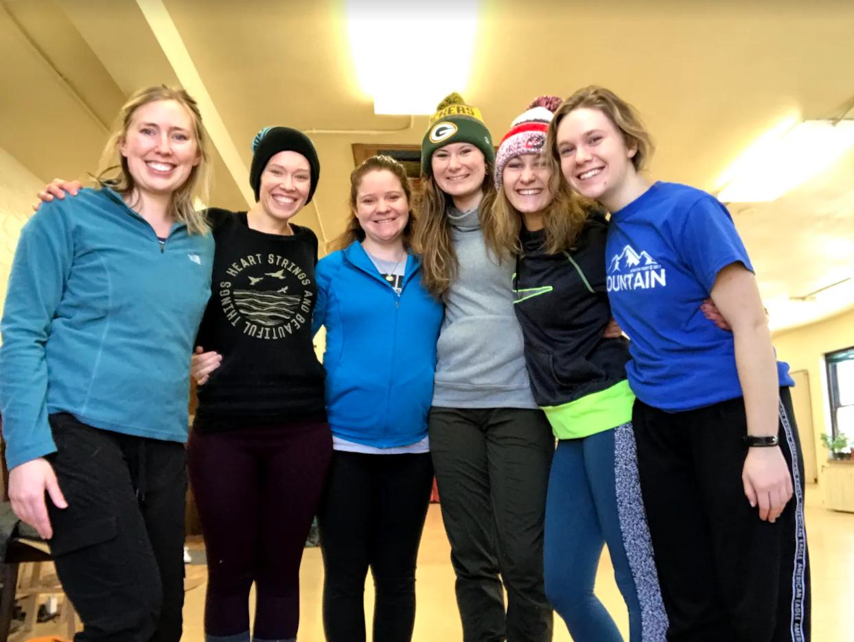 NACHMO Connect Performers: Molly Johnston, Chelsey Dagen, Suzanne Svare, Alyssa Berube, Sara Anderson, and Andrea Erlandson