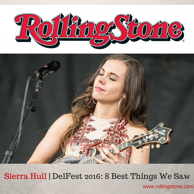 Rolling Stone includes Sierra in their list:  DelFest 2016: 8 Best Things We Saw