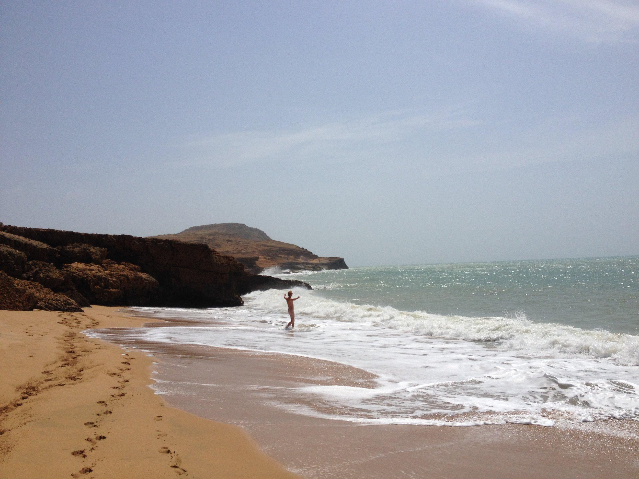 The beach at Pilon de Azucar