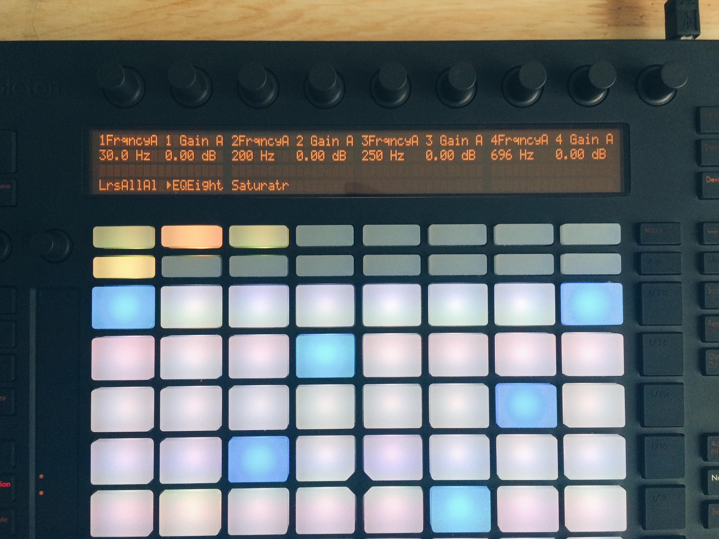Ableton Push en Note Mode