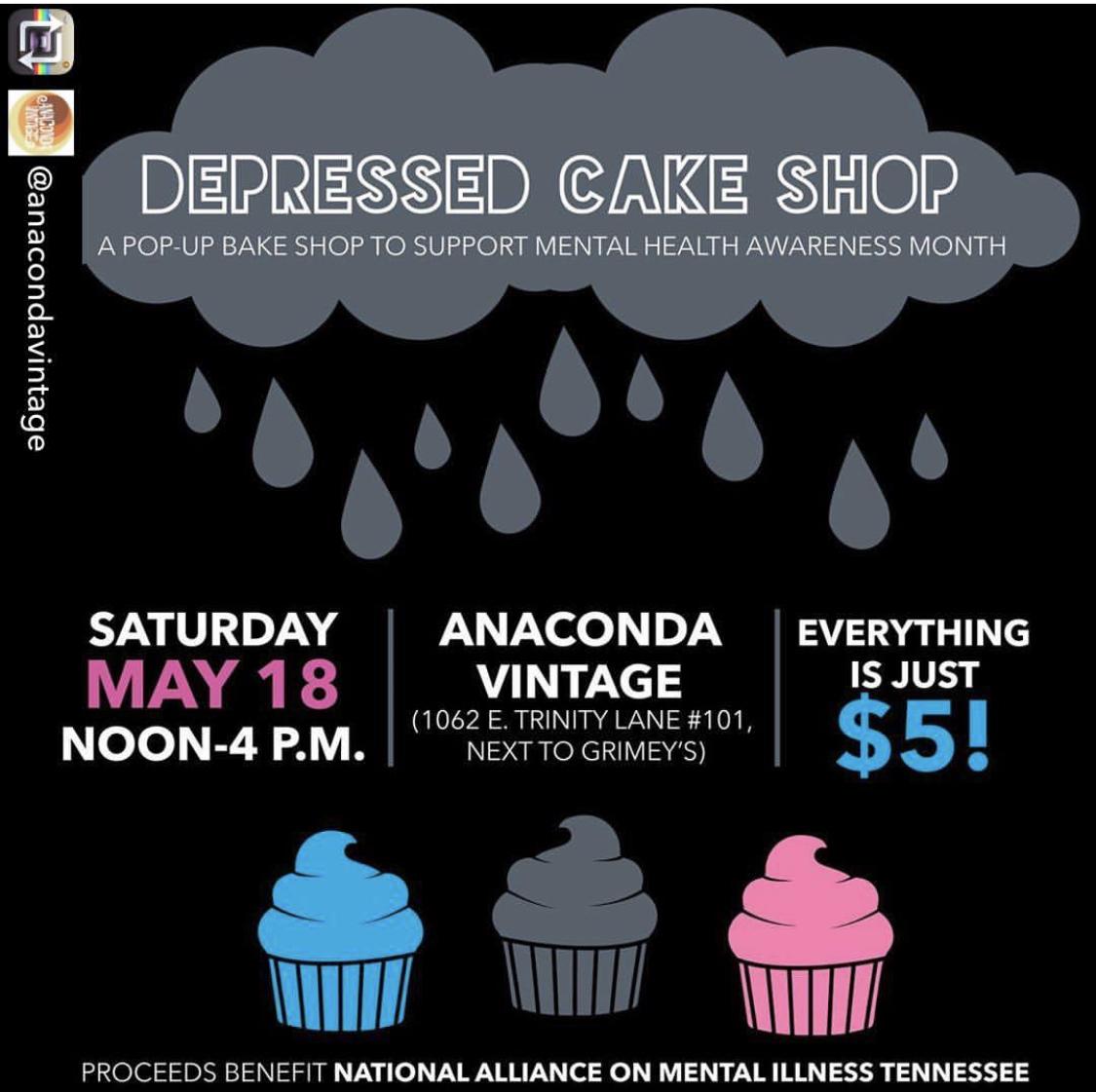 Depressed Cake Shop — depressed cake shop
