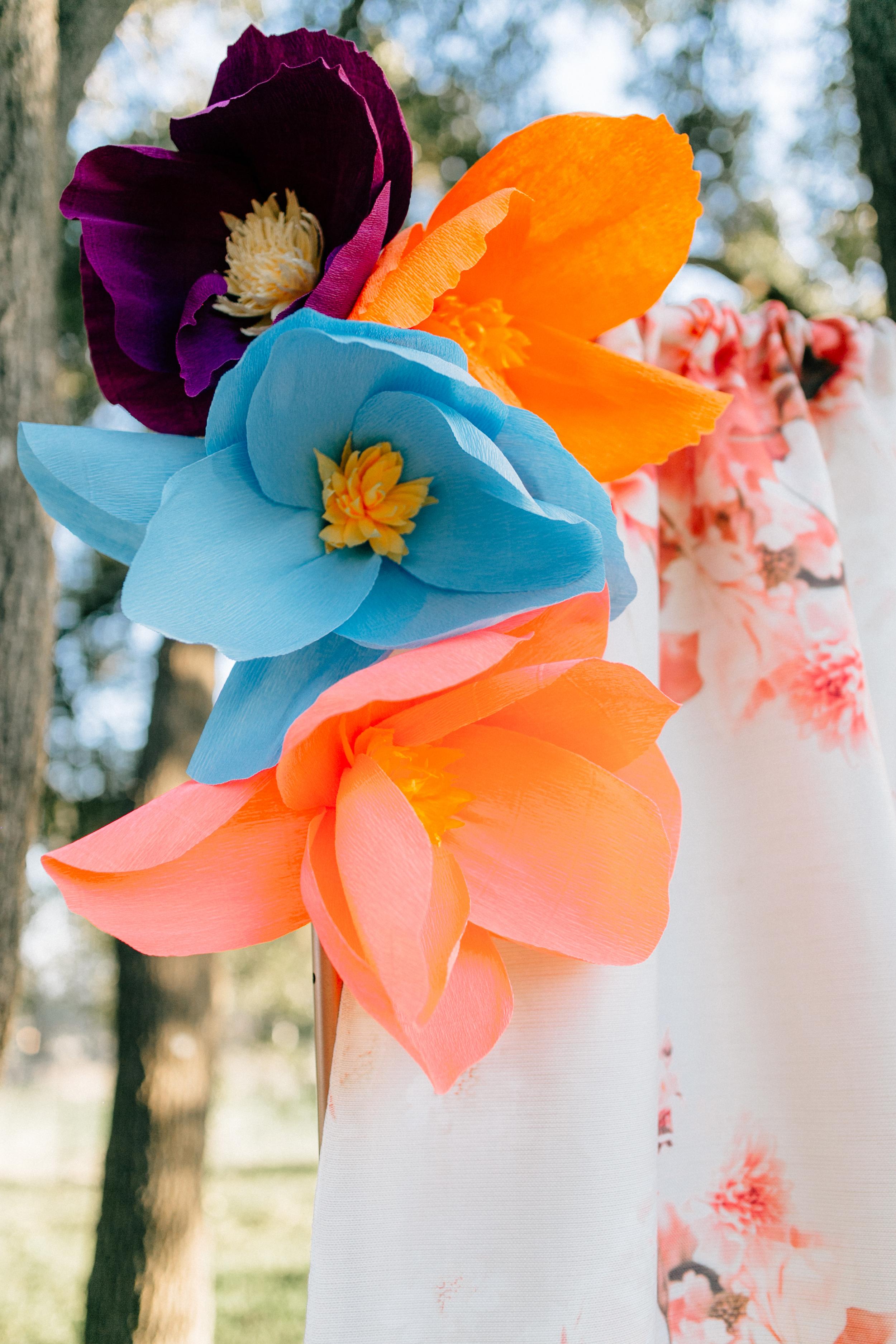 austin wedding floral backdrop rental