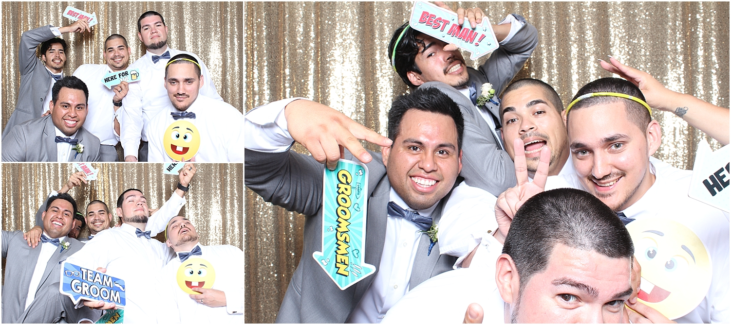 Round rock wedding photo booth