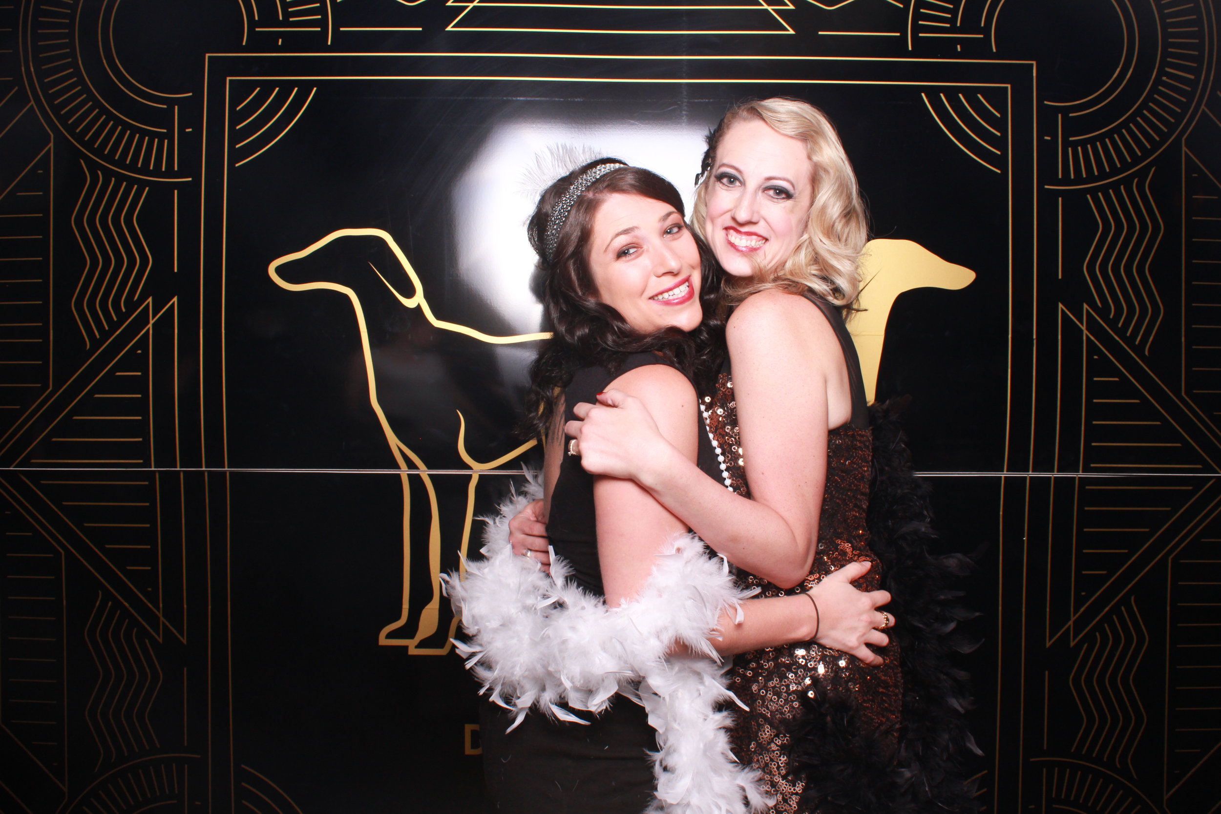 austin christmas party photo booth