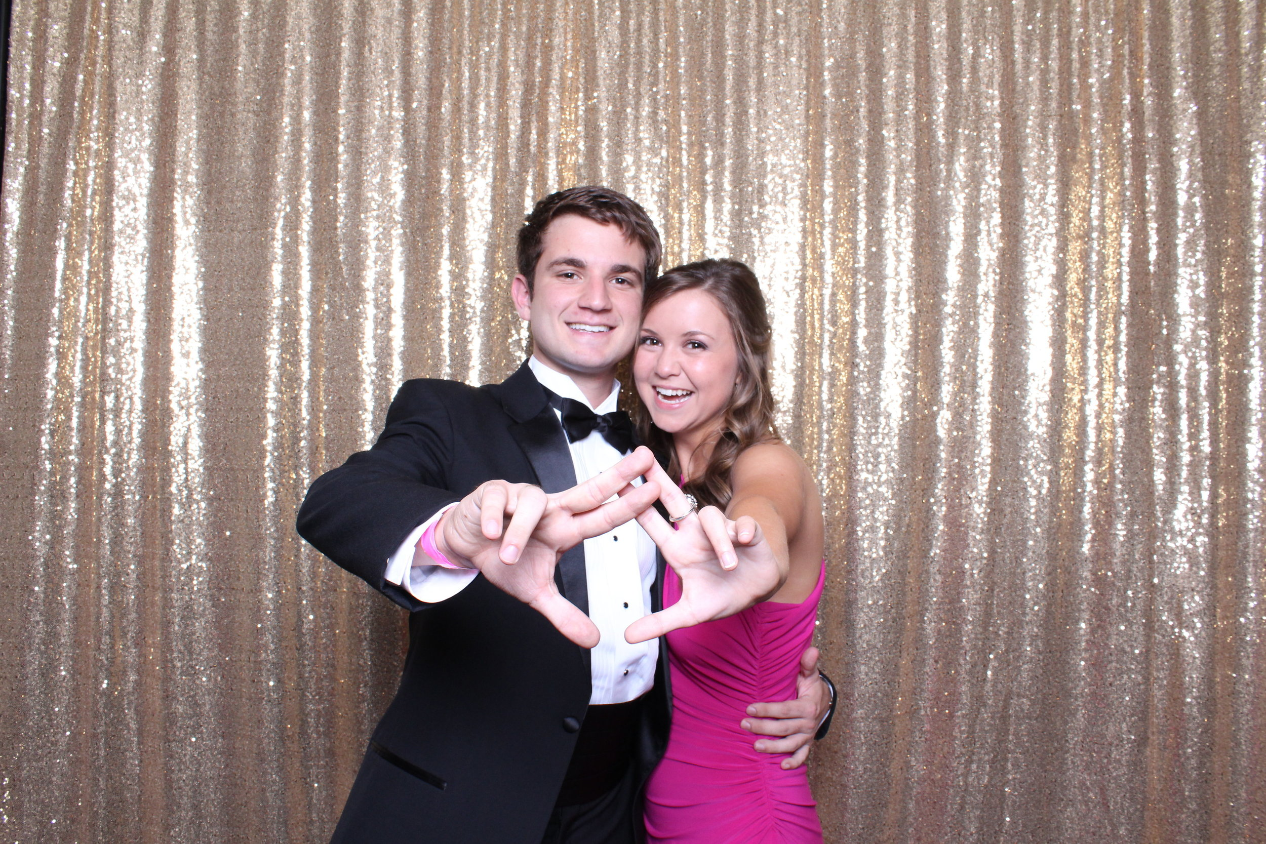 fraternity formal photo booth