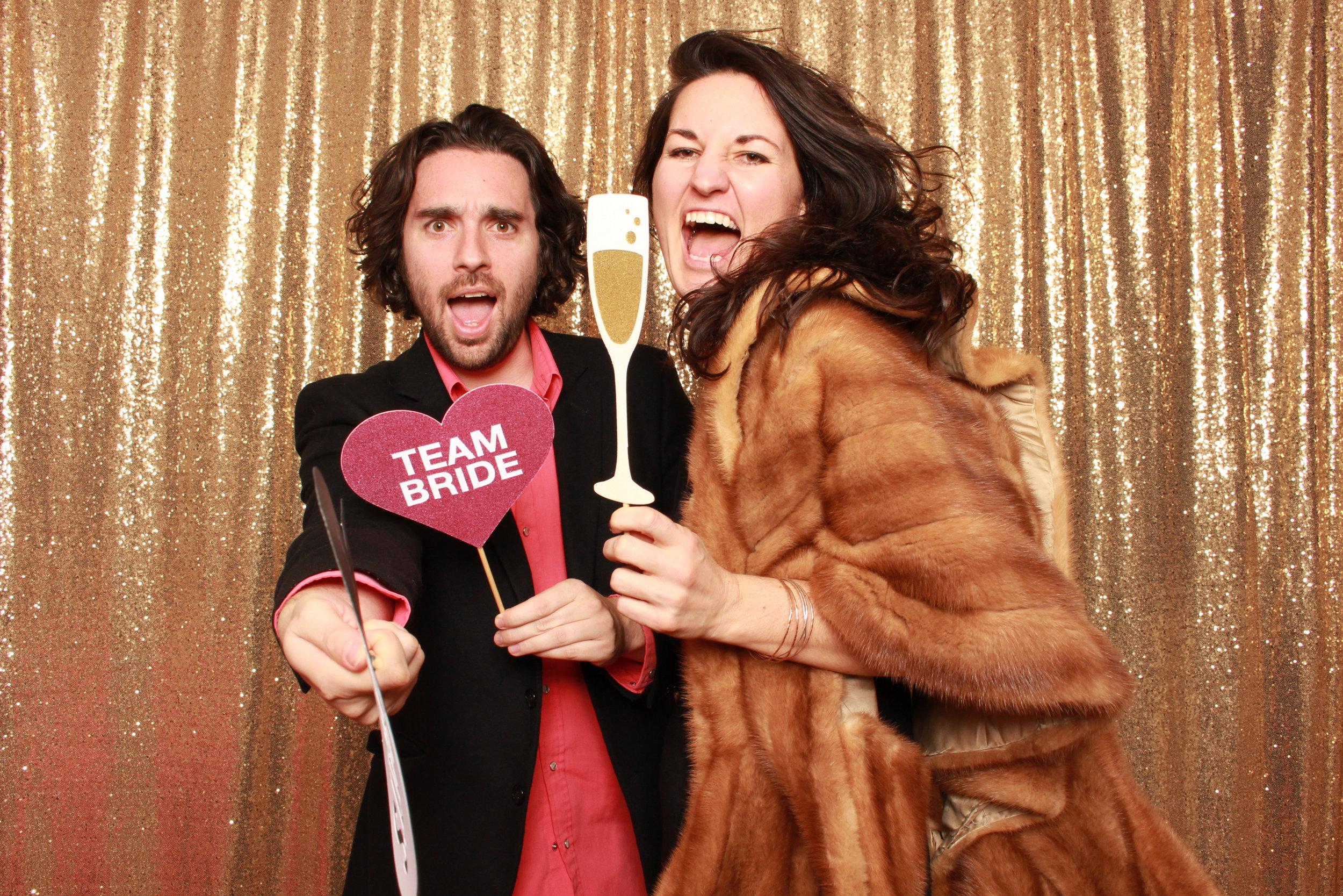Mona & Adam | Classy Camp Lucy Wedding Photo Booth Rental — Oh Happy