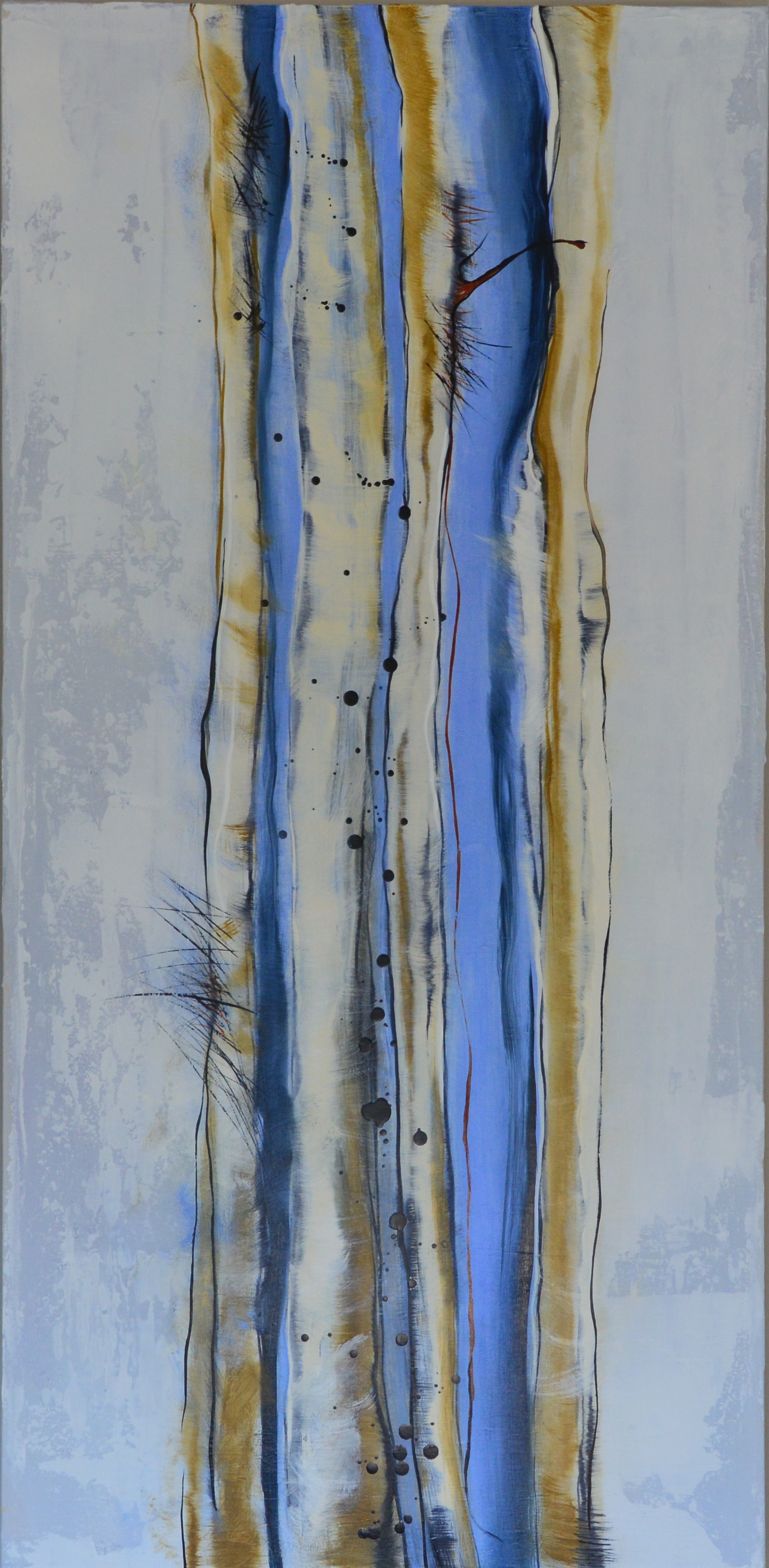 Coastal Trees II   22 x 45  Oil on Canvas