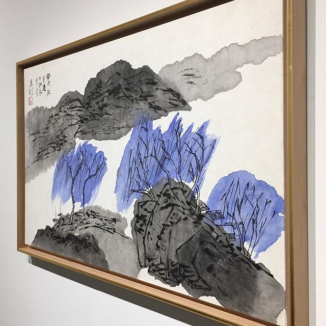 // SAF 2019 // Ink and Color on paper.  2019 Yangjee Tak, Korea #seattleartfair #saf2019 #artfair #exhibition #favoriteart #instagram #artcollectors #inkandcolor #worldart #modernart #originalart #todaysartreport #seattle #2019