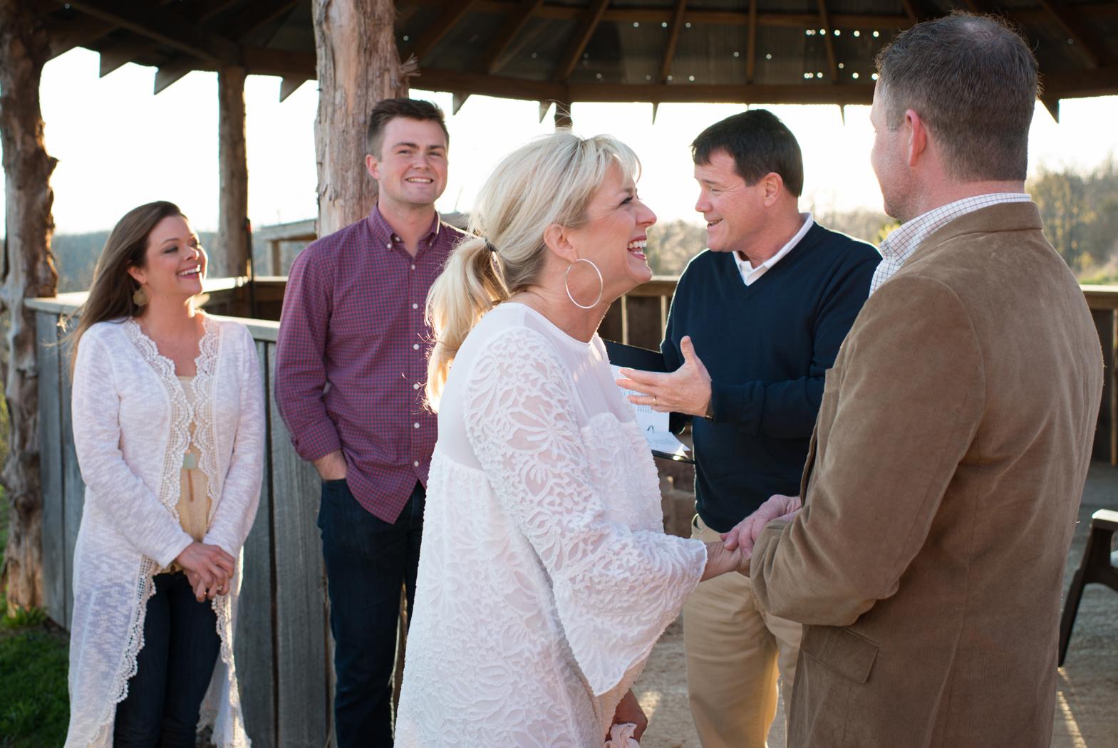 Buffalo River wedding
