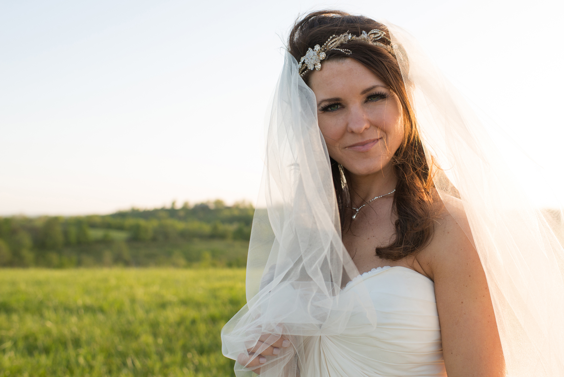 Bridal sunset
