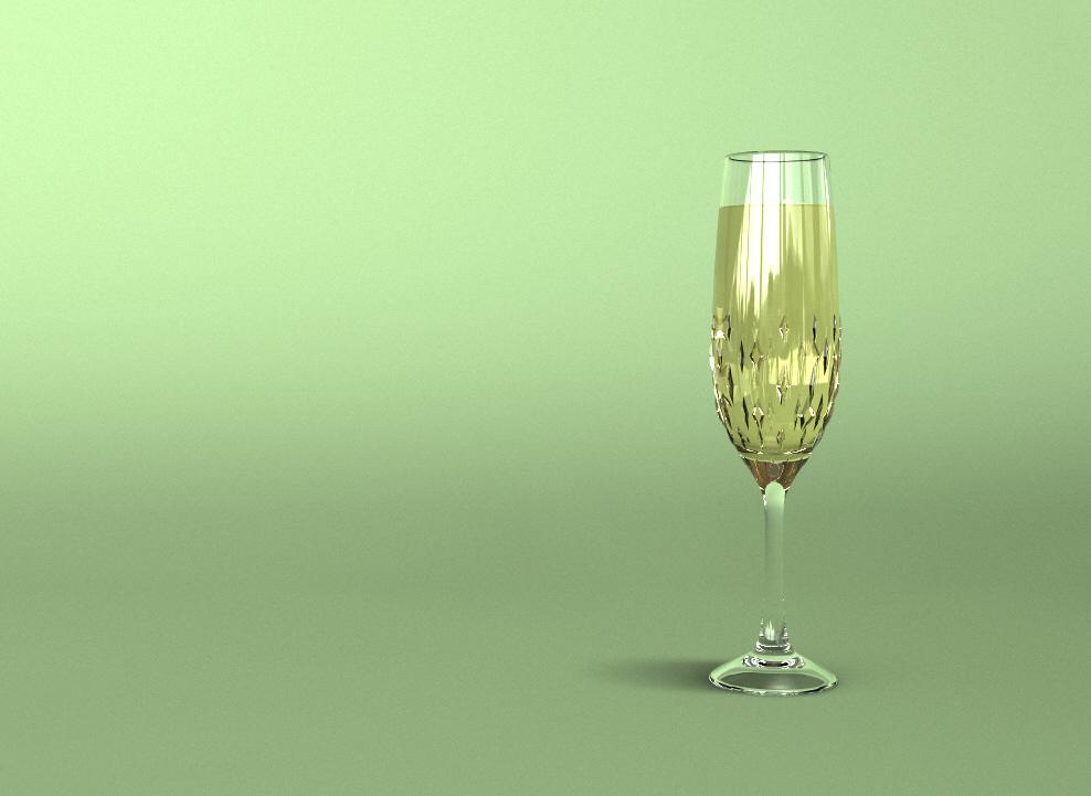 Flute Glass Concept (2017)